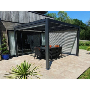 Galaxy Outdoor Gazebo End Screen for 3.5m by 7.2m