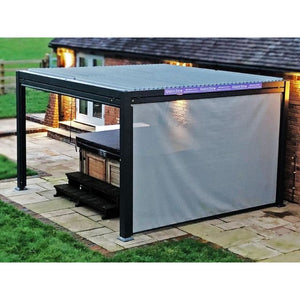 Galaxy Outdoor Gazebo Side Screen for 3.5m by 5.4m