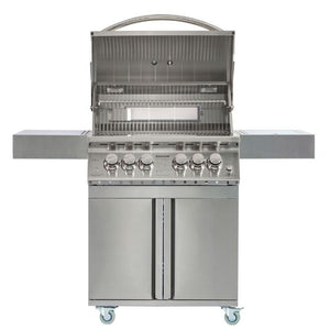 Whistler Stow 4 Burner Gas Barbecue