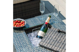 Georgia 2 Seat Sofa with Ice Bucket by Maze Rattan - Gardenbox