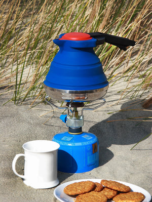 Collapsible Kettle Ideal for Camping or Travel - Choice of Colours - Gardenbox