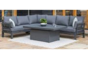 Oslo Corner Sofa with Rising Table by Maze Rattan