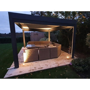 Pergolux Electric Gazebo 4.5m