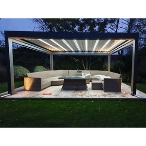 Pergolux Electric Gazebo 4m