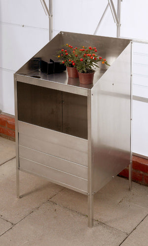 Aluminium Potting Bench - Genuine Elite Greenhouse Potting Bench - Gardenbox