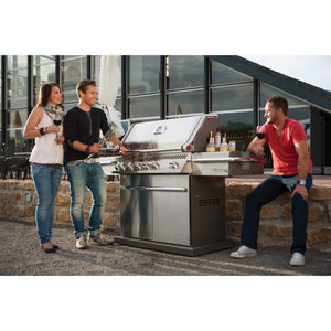 Napoleon Prestige Pro 500 Built In Outdoor Kitchen Natural Gas Barbecue - Gardenbox