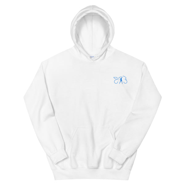 LOGO EMBROIDERED HOODIE (multi-color)