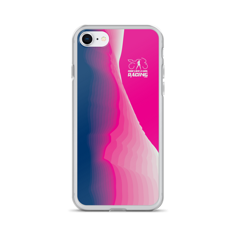 Pink Wave iPhone Case
