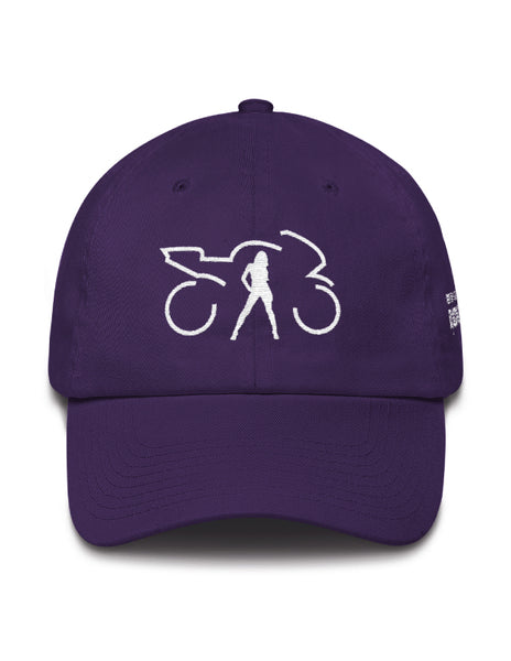 RLAG Hat Purple/White