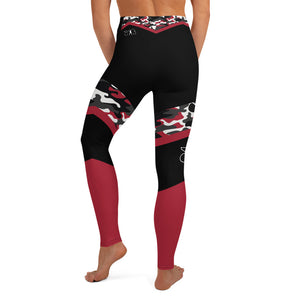 RED CAMO LEGGINGS