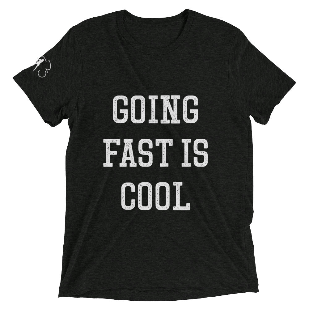 GOING FAST IS COOL t-shirt (multi-color)