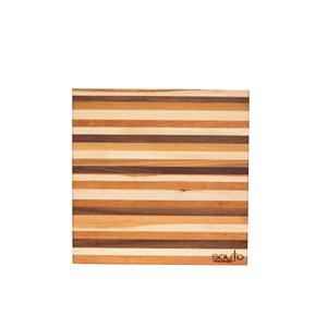 14 x 14 inch cutting board, Souto Boards sold at JoAn's Mustard