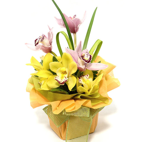 CYMBIDIUM TABLE ARRANGEMENT