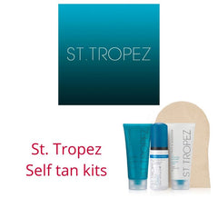 Self tanning with St. Tropez