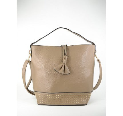 Purse - Beige and gold