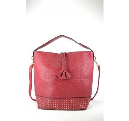 Purse - Red and gold