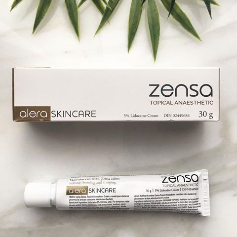 Zensa numbing cream $45.00