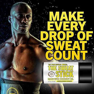 Sweat Stick with Coconut Scent - Sweat Cream for Women & Men - Slim Cream for Sweats for Women & Men - Slimming Cream - Sweat Gel for Stomach & Belly - for Flat Tummy - TNT Pro Series