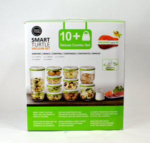 FOSA Vacuum Food Storage - Madrid Collection - Deluxe Combo Set with Turtle Vacuum (Item No. MC11000)