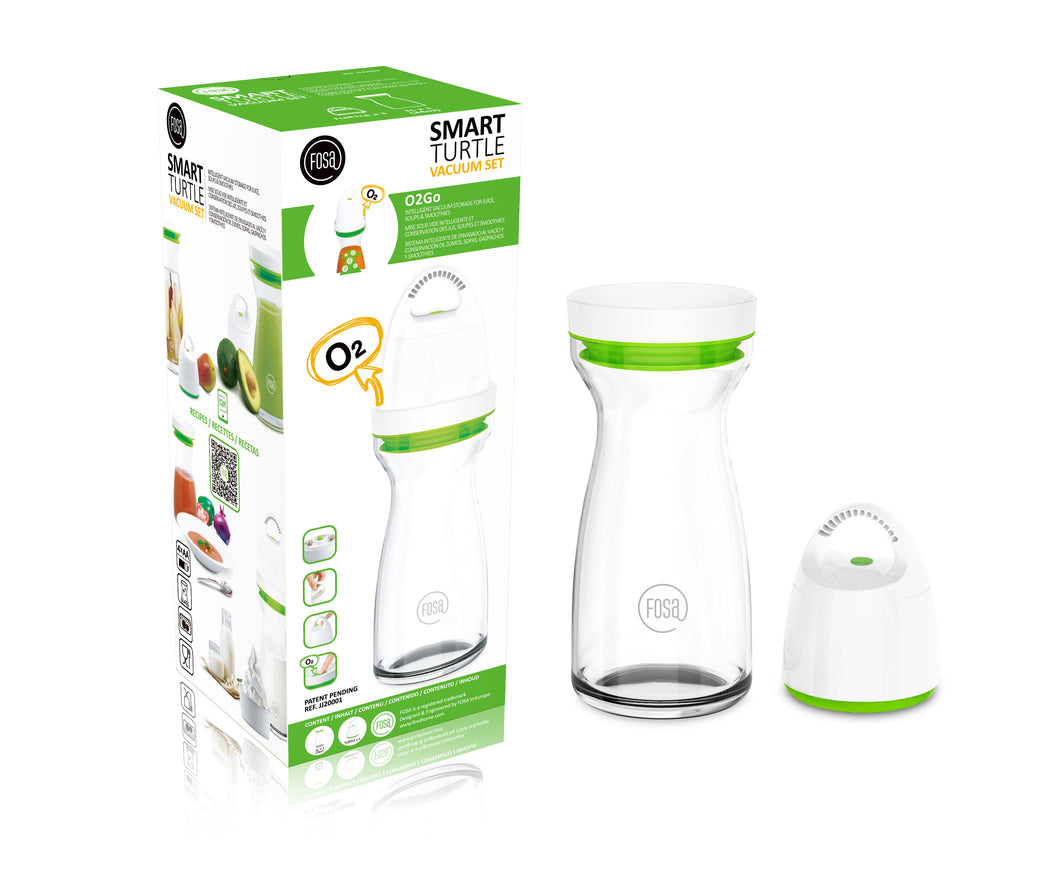 FOSA Vaccum Food Storage - O2Go Series - Juice Jug Mini Combo Set (Item No. JJ20001)