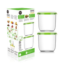 Load image into Gallery viewer, FOSA Vacuum Food Storage - Madrid Collection - Additional Container Set - 2 x 1350 ml (Item No. MC21350)