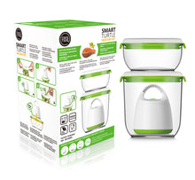 Load image into Gallery viewer, FOSA Vacuum Food Storage - Madrid Collection - Starter Set with Turtle Vacuum (Item No. MC30000)