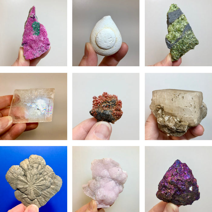 Natural Stone and Crystal Specimens