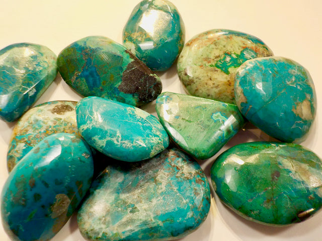 Chrysocolla Polished Stone - 7.99