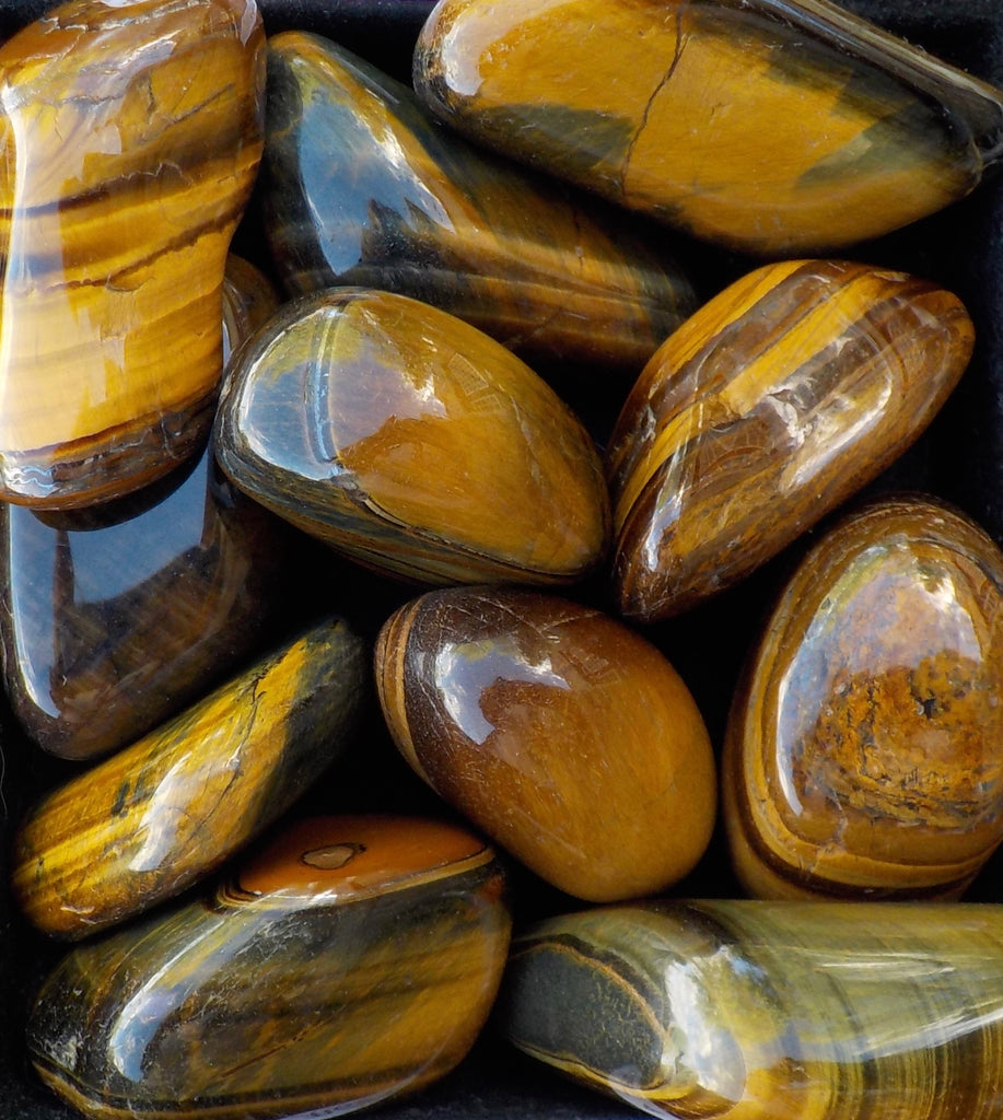 Gold Tiger Eye Tumbled - 3.99