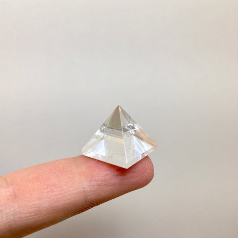 Clear Quartz Pyramid - 6.99