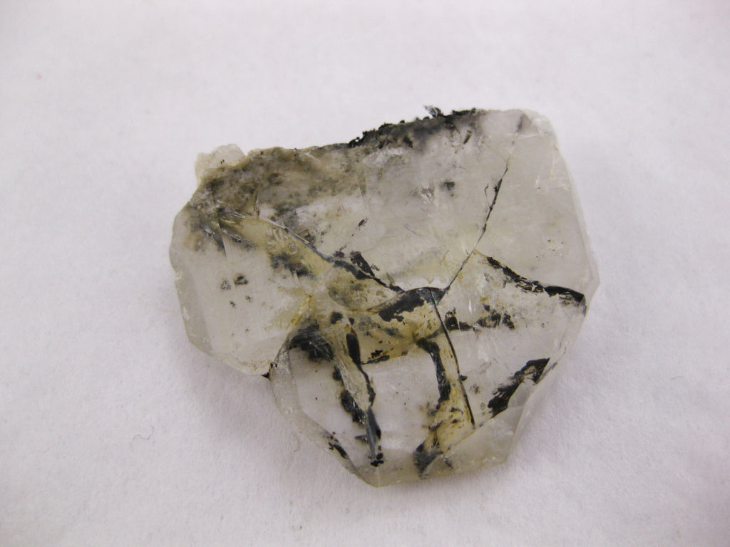Hollandite in Quartz