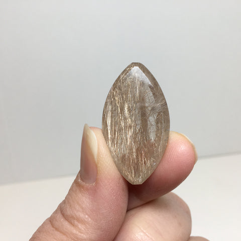 Rutilated Quartz Cabochon - Regular Price 60.00
