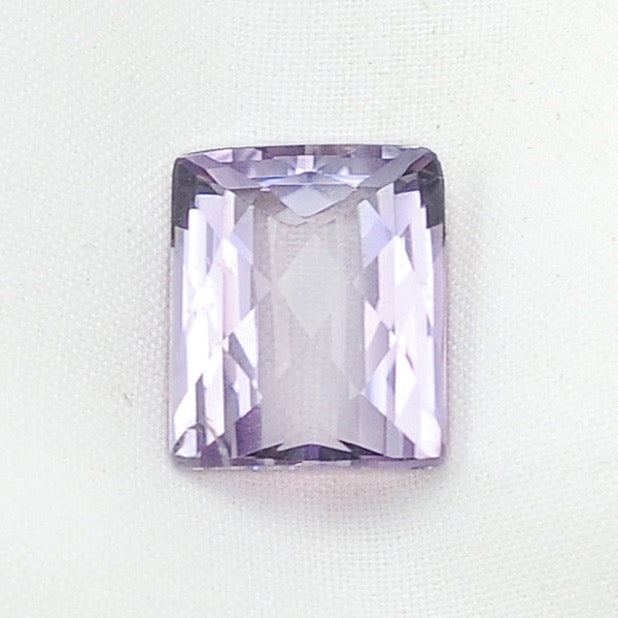 Pink Amethyst Faceted Rectangle - 44.99