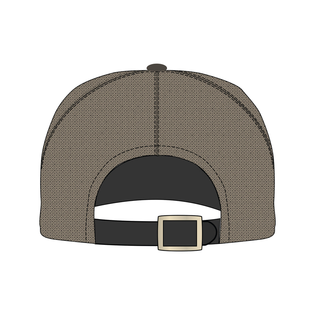 Trucker Chocolate & Khaki Hat