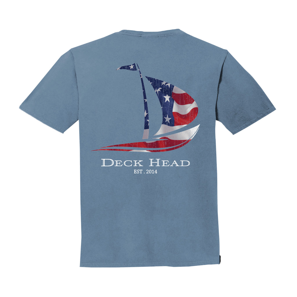 Boat Flag Pocket T-shirt