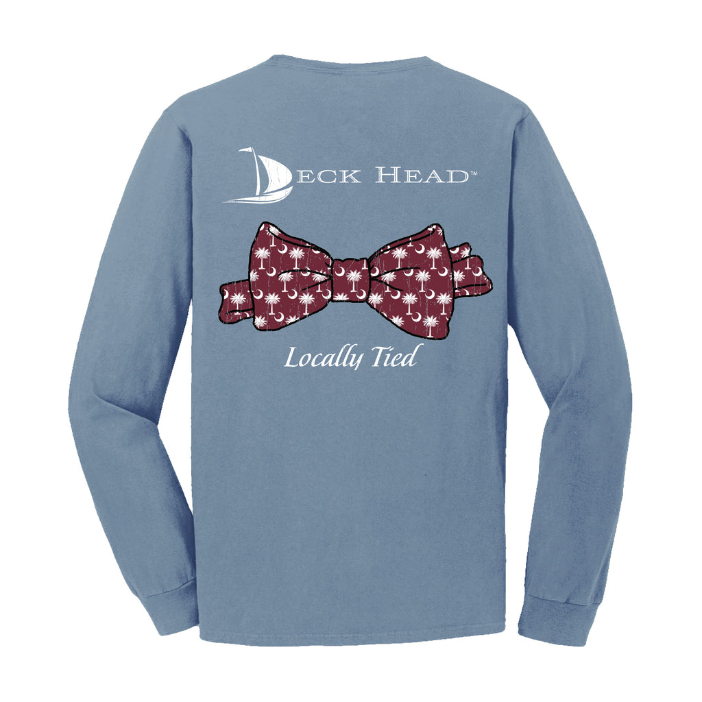 Locally Tied South Carolina Pocket Long Sleeve Shirt