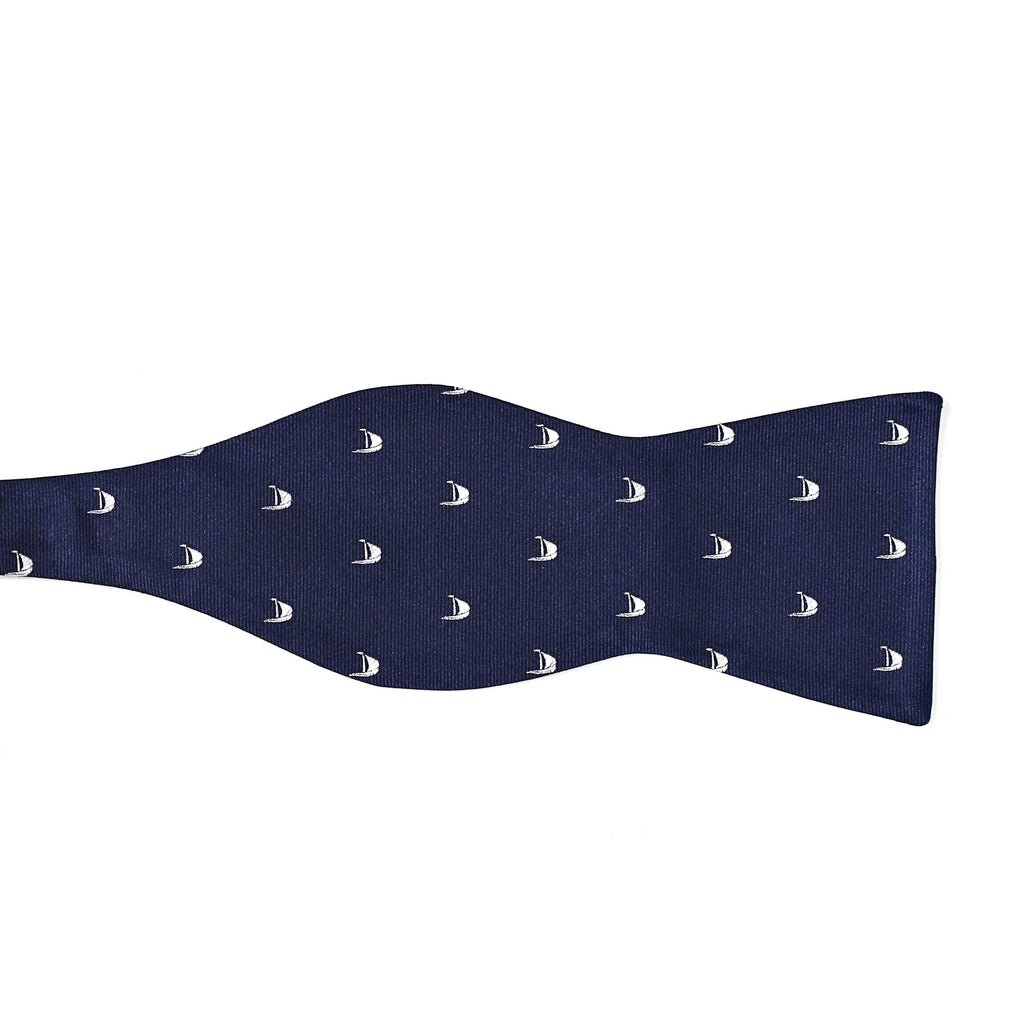 signature logo navy left