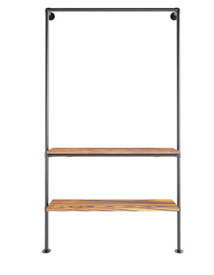 Wood Shelf Double Wall
