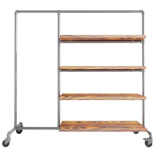 Wardrobe Clothes Rail - Ziito