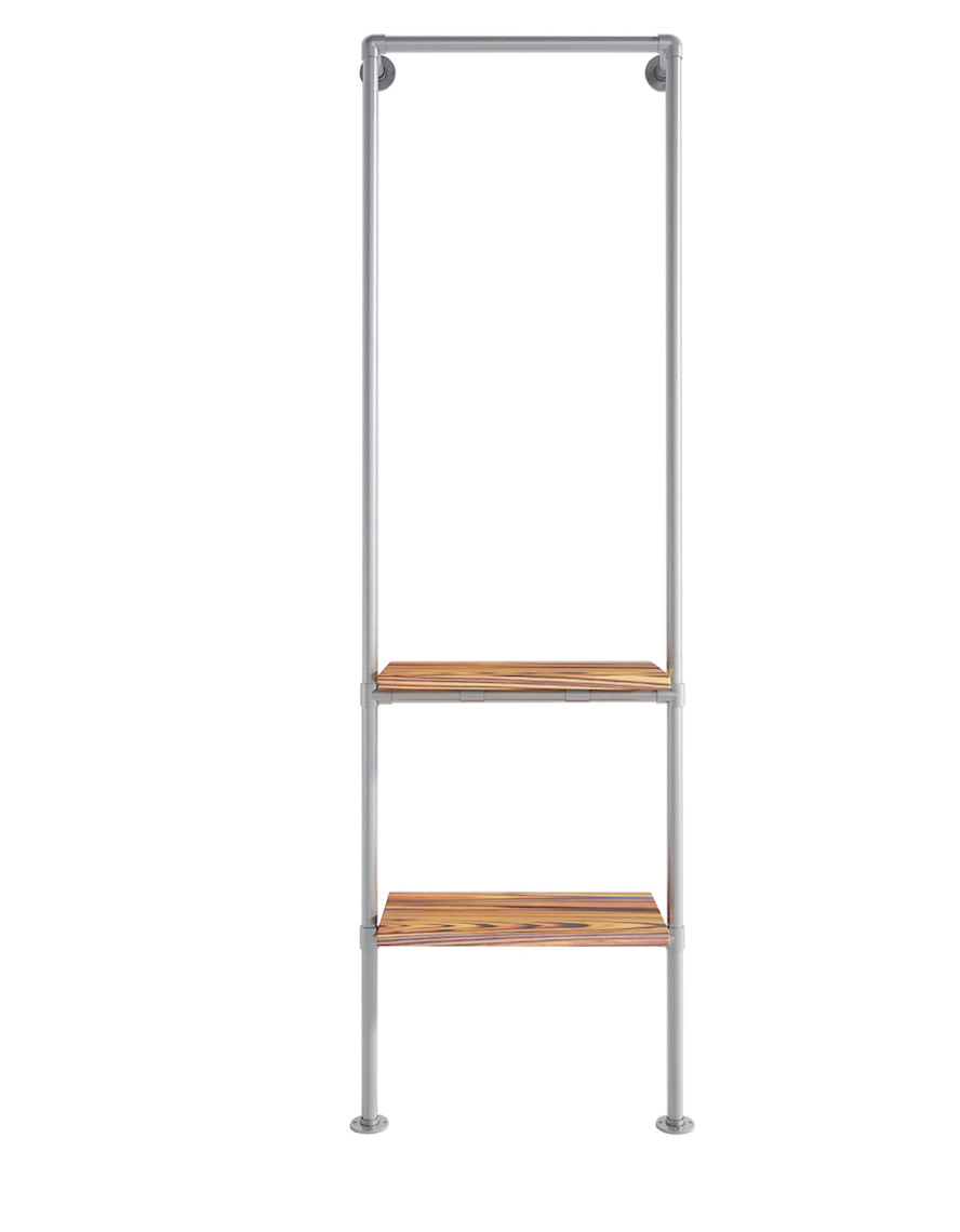 Ziito Clothes Rail that mounts to the wall