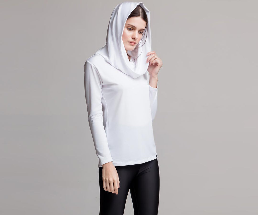 HOODED-NECK SHIRT