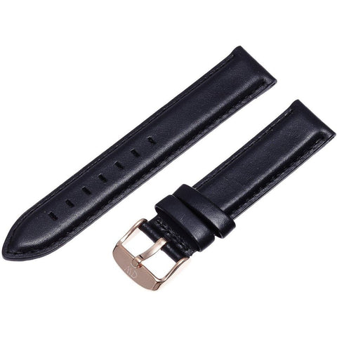 Daniel Wellington 0708DW Classic Sheffield Watch Strap, Rose Gold 18mm