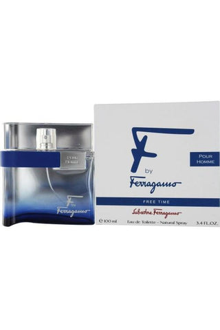 Salvatore Ferragamo F By Ferrgamo Free Time 3.4 Edt Sp For Men