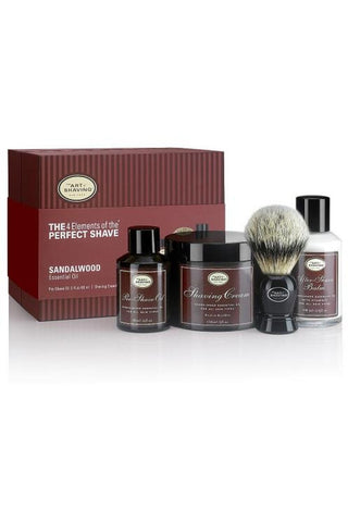 The Art Of Shaving Sandalwood The 4 Elements Of The Perfect Shave