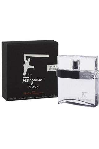 "Salvatore Ferragamo ""F"" Black 3.4 Edt Sp For Men"