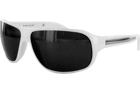 Ermenegildo Zegna SZ3540M 04AO Sunglasses, White Frame, Gray 64mm Lenses