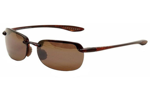 Maui Jim H408-10 Sandy Beach Sunglasses, Tortoise Frame, Polarized HCL Bronze 56mm Lenses