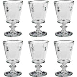 La Rochere Abeille Wine Glass Model No. 611001, 8.11oz, Set of 6