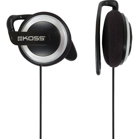 Koss KSC21 Ear Clip Headphones, Black
