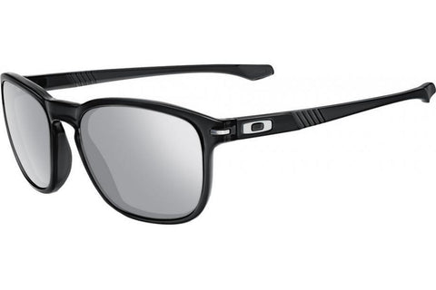 Oakley OO9223-14 Enduro Sunglasses, Black Inc Frame, Chrom Iridium Polarized 55mm Lenses